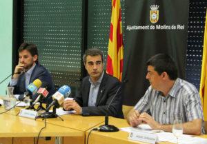 Paz, Casals i Zaragoza han presentat les ordenances en roda de premsa // Jose Polo