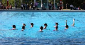 Aquest és el tercer any que hi haura natació sincronitzada al CN Molins de Rei// CN Molins de Rei