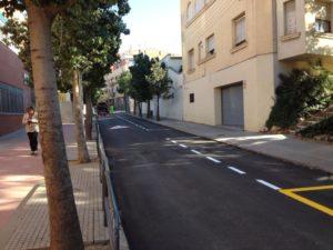 El carrer Pare Manyanet ja té una altra cara // cedida per Xavi Paz