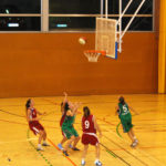 El femení de bàsquet suma la tercera victòria consecutiva