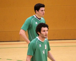 Manel Artés i Pol Ibáñez són dos jugadors importants en atac // Jose Polo