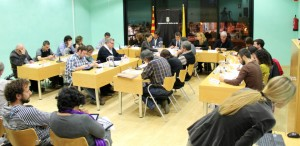 CiU i PSC han aconseguit el suport del PP i l'abstenció d'Iniciativa // Jose Polo