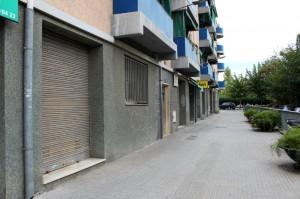 L'oratori es podria situar al carrer Mancomunitat del barri de la Riera Bonet // Jose Polo