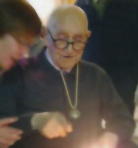 Lluís Català durant la celebració del seu 100 aniversari // El Llaç