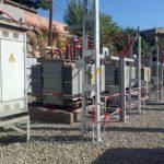 Endesa instal·la parallamps a la subestació de Quatre Camins per reforçar el servei