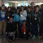 Gran actuació de l'halterofília de Molins de Rei en el campionat d'Espanya