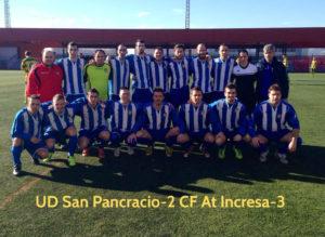 L'equip que va superar la situació a Sant Joan Despí // Atlètic Incresa