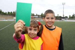 La competició s'ha implantat arreu del Baix Llobregat. A la imatge, dos joves esportistes de Sant Boi // Ajuntament de Sant Boi de Llobregat