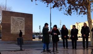 L'acte d'inauguració va ser el passat dissabte a la plaça de la Llibertat// Laura Herrero