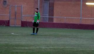 Javi Gutierrez debutant amb el Molins de Rei CF // Adrià Casaín