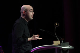 El científic Jordi Arbiol va rebre el premi Innovació 2013 // Jordi Julià