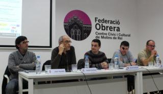 Imatge dels ponents durant la taula rodona // Jose Polo