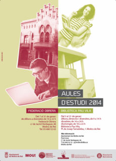 cartell aules 2014