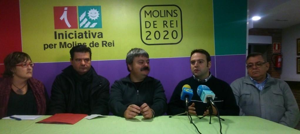 D'esquerra a dreta: Mercè Ferrer, Rafa Bellido, Ivan Arcas, Sergi Conde i Lluís Carrasco // David Guerrero