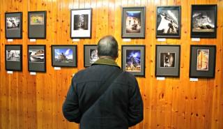 Les parets del local del CEM es troben plenes de les millors fotos dels premis Clic! // David Guerrero