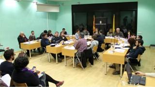 Imatge del passat ple municipal del mes de febrer // Jose Polo