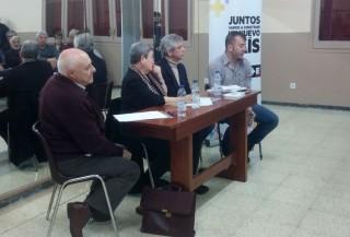 Paco Martínez, Antònia Castellana, Eduardo Reyes i Coque García a l'AAVV del Canal // Jose Polo