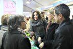 La consellera Neus Munté va visitar les entitats sociosanitàries acompanyada de la regidora Carme Madorell i l'alcalde, Joan Ramon Casals // David Guerrero
