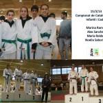 Doble podi del CE Molins de Rei al Campionat de Catalunya de judo