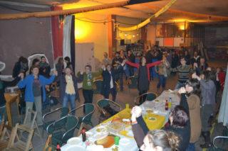 En acabar, es va cantar La Lega, un hime a la llibertat feminista // Elisenda Colell