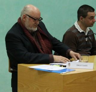 Emilio Ramos durant el ple del mes de febrer // Jose Polo