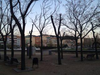 Imatge del Parc de la Mariona abans de les obres // Ajuntament de Molins de Rei