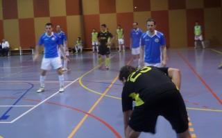 Una acció del partit a la segona meitat // Adrià Casaín