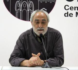 Jordi Roig en un instant de la presentació // Jose Polo