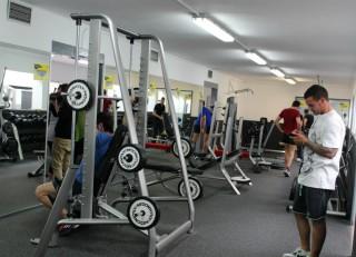 Una de les parts de la nova sala de fitness // Jose Polo