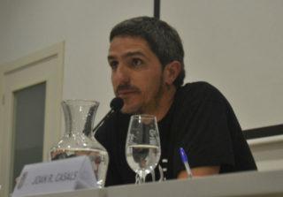 Jordi Martí, en l'acte de presentació del seu treball. // Elisenda Colell