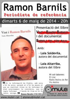 Cartell acte Barnils maig 2014