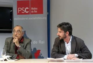 Joaquim Nadal i Xavi Paz a Ca n'Ametller // Jose Polo