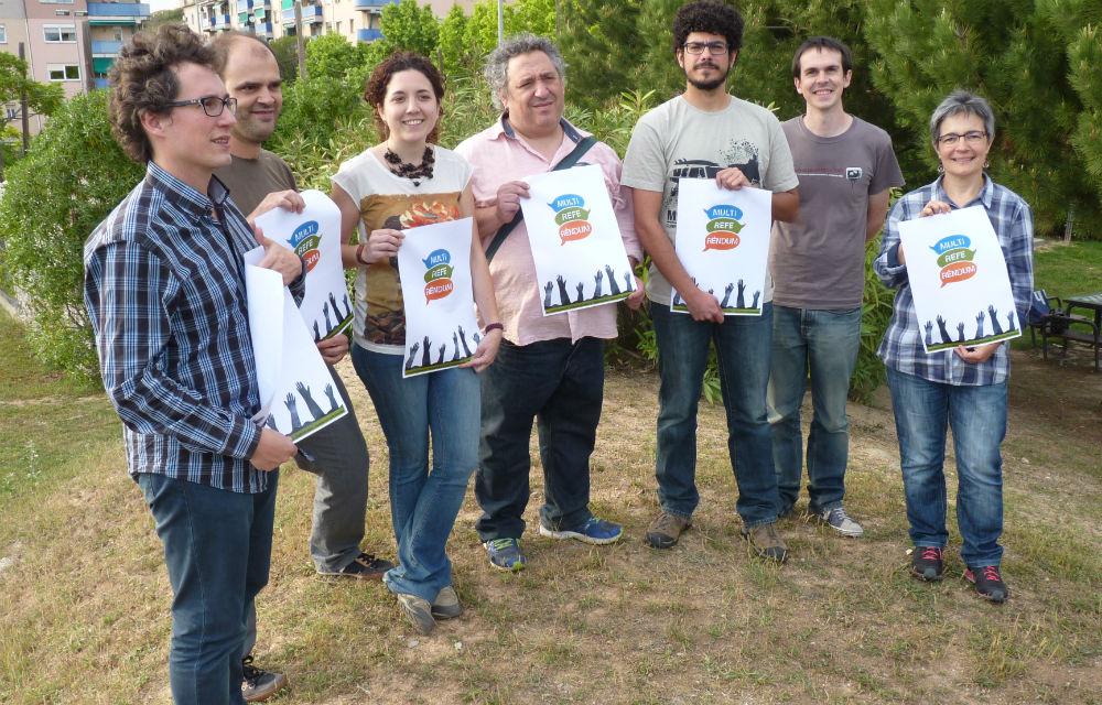 El comitè local del Multireferèndum a Molins de Rei/ Multireferèndum Molins