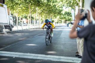 Santi Prat finalitzant la cursa // Paolo Martinelli