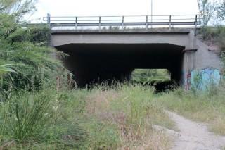 El nou accés al riu està situat al barri de la Granja // Jose Polo