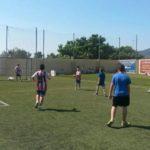 Més de 100 persones participen a la trobada d'handbol gespa
