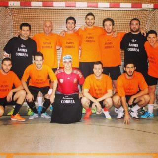 Equip Cal Dit 24 hores de futbol sala 2014 // Cal Dit