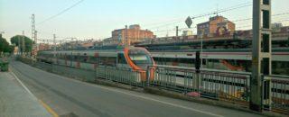 El barri de Les Conserves es troba separat del Centre Vila per les vies de tren // David Guerrero