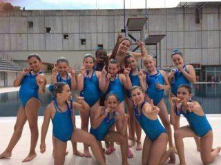 L'equip campió de Catalunya escolar // CN Molins de Rei