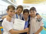 Nois del CN Molins després de participar al campionat // CN Molins