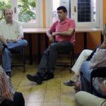 Els militants del PSC Molins de Rei demanen més política de carrer en una xerrada amb Miquel Iceta