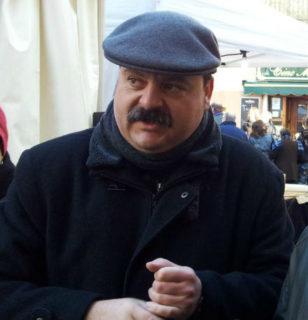 Ivan Arcas en una Fira de la Candelera // Arxiu - Jose Polo
