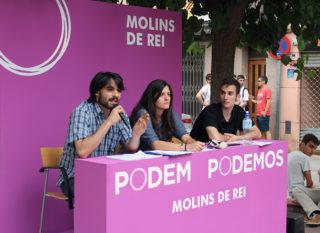 D'esquerra a dreta: Lucas Silvano, Ruth Castro i Alejandro Pérez // Jose Polo