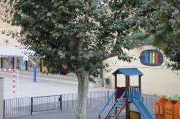 Pati de la nova escola El Palau, antiga Alfons XIII // Jordi Julià