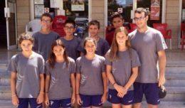 L'equip aleví de natació del CN Molins // CN Molins