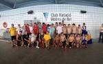 Jugadors de diferents equips en una fotografia // CN Molins