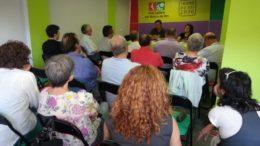 L'assemblea d'Iniciativa per Molins de Rei va mostrar el seu suport a Ivan Arcas // IxMdR