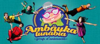 Victor Salinas, Josep Miquel Janés, Joan Tresserra, Magí Canyelles i Maria Busquets són els integrants del grup d'animació // Ambäukatunàbia