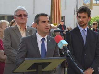 Joan Ramón Casals, juntament amb Xavi Paz i Joaquim Martí // Elisenda Colell