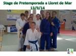 Els representant del CE Molins de Rei a Lloret // judo CE Molins de Rei